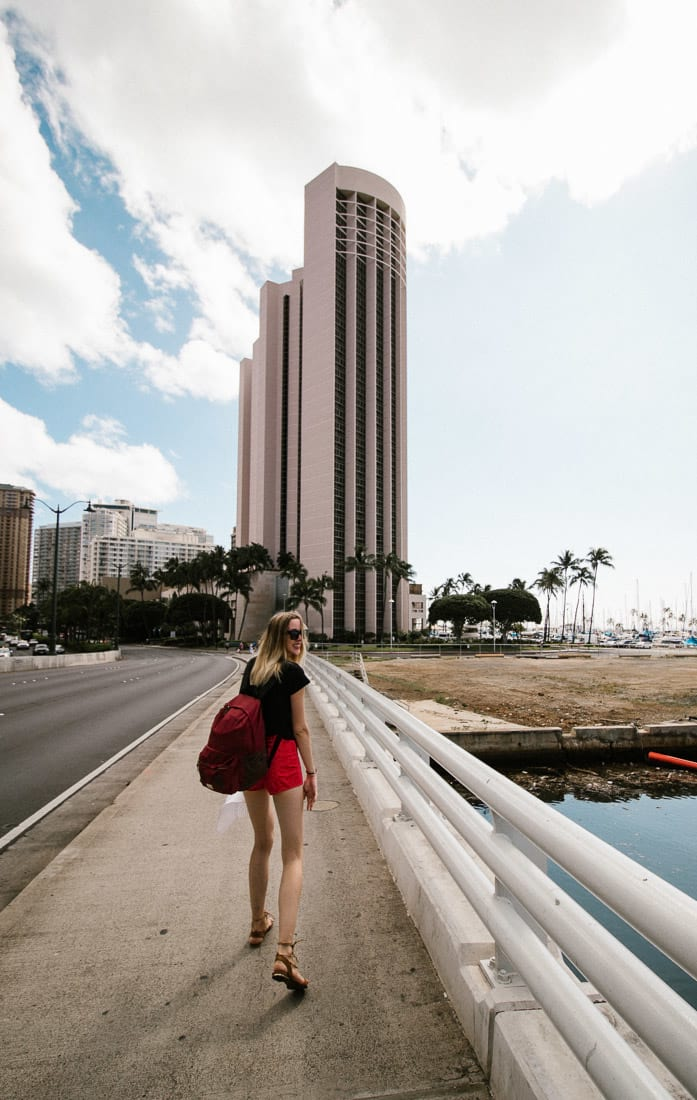 Hawaje 2017, Hawaii, Oahu, Honolulu, Waikiki Beach