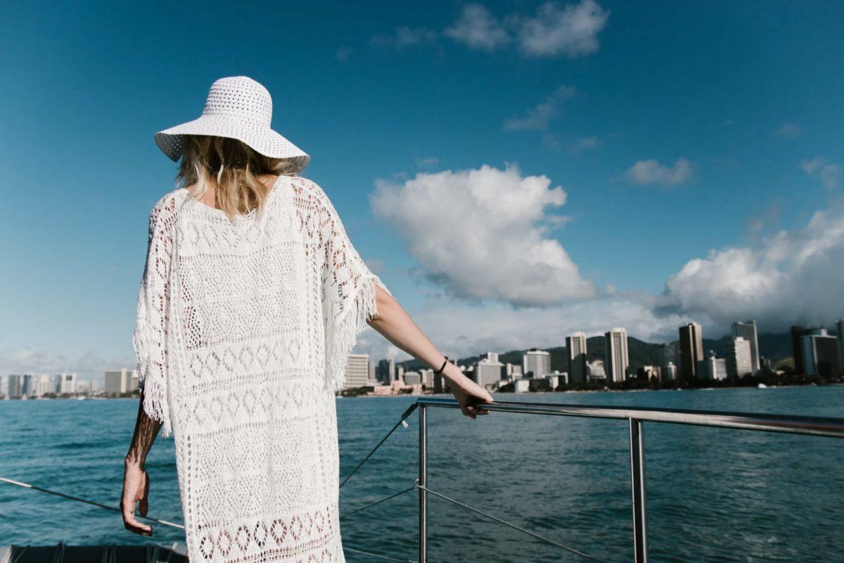 waikiki beach ManaKai Catamaran, Hawaii, Oahu, Honolulu
