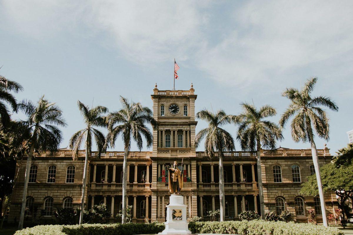 Hawaje 2017, Hawaii, Oahu, Honolulu, Iolani Palace