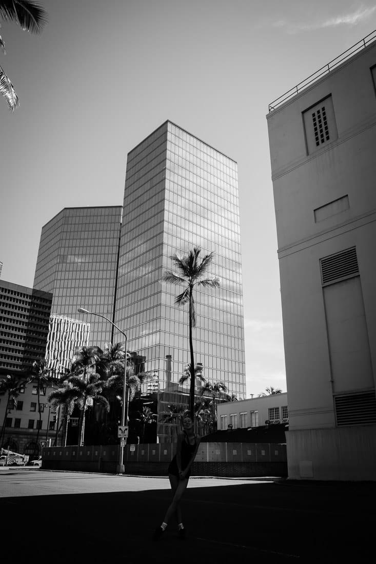 Hawaje 2017, Hawaii, Oahu, Honolulu downtown